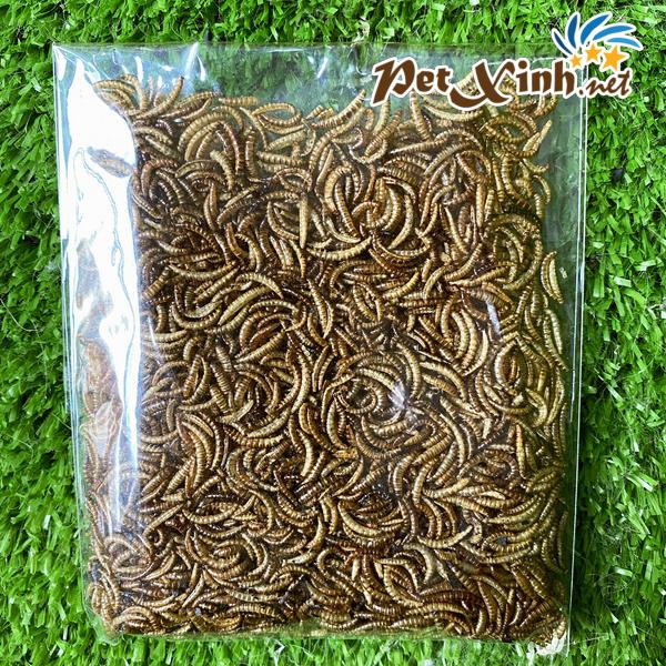 sâu khô sâu gạo sấy khô