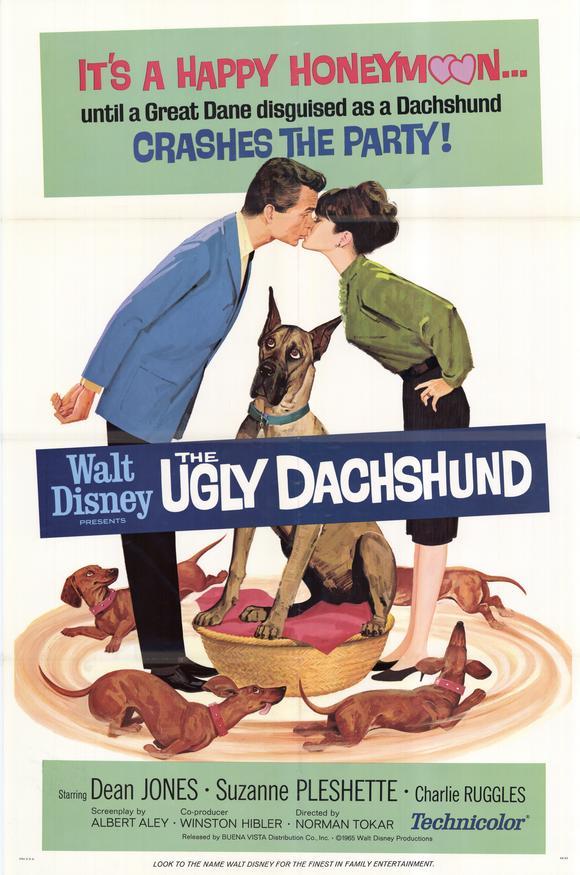 Một bộ phim rất cổ điển về dachshund của Walt Disney