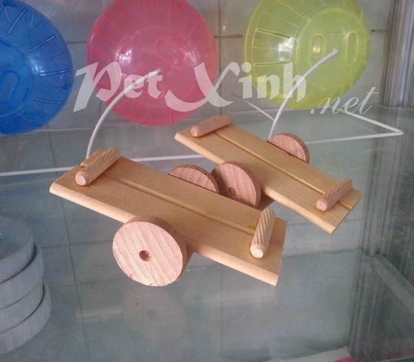bập bênh hình bánh xe cho hamster