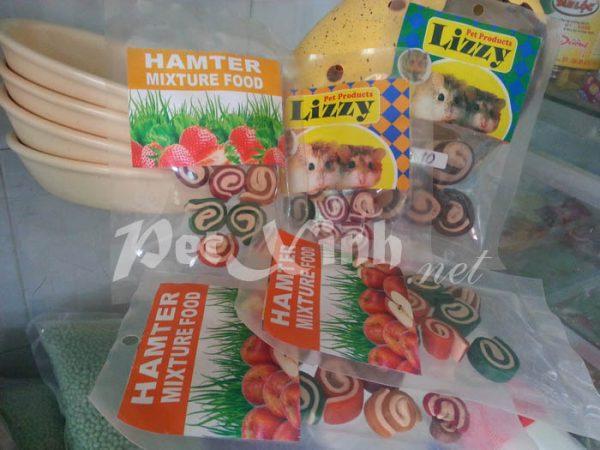 kẻo dẻo hamster mixture food