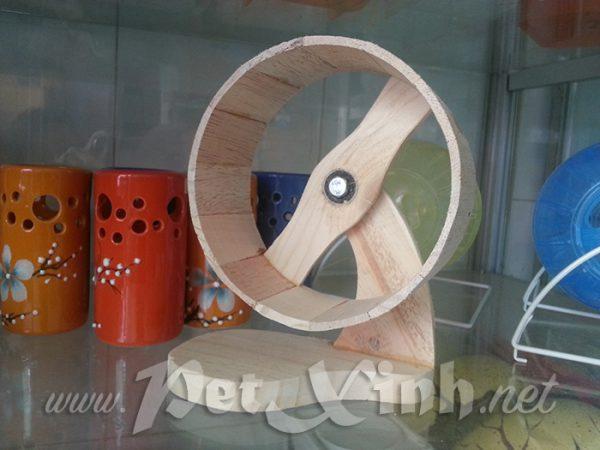 Wheel hamster đế tròn