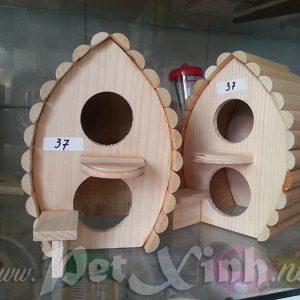 Nhà cho hamster kiểu dáng nhà chim bồ câu