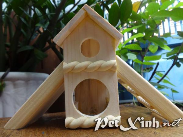 Nhà gỗ cầu tuột 1