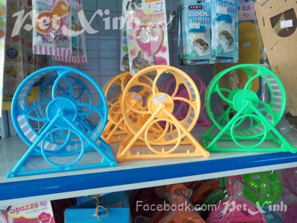 wheel nhựa cho hamster