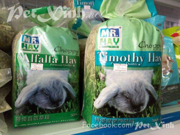 Cỏ khô cao cấp cho thỏ