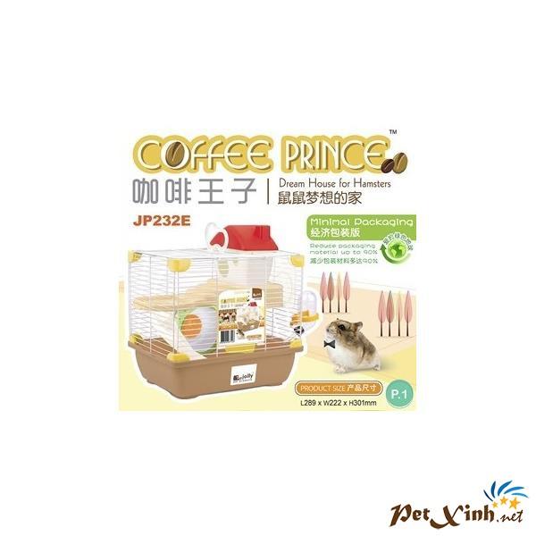 Lồng Hoàng Tử Cafe Cho Hamster
