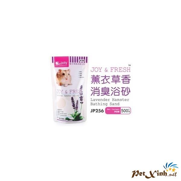 Cát Tắm Khử Mùi Hương Lanvender 500g