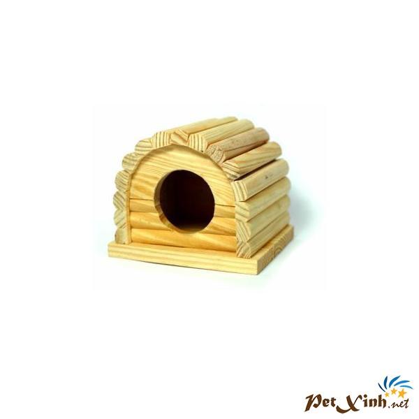 Nhà Gỗ Hình Vòng Cung Cho Hamster