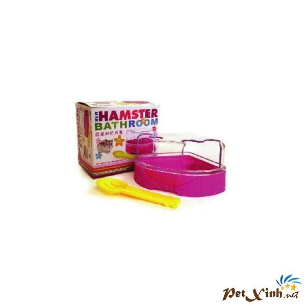 Phòng Tắm Hamster Tím