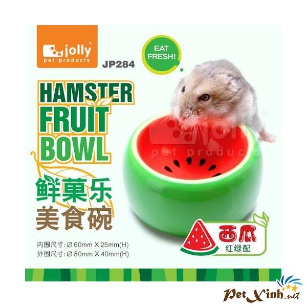 Chén Ăn Dưa Hấu Cho Hamster