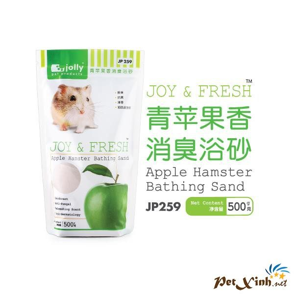 Cát Tắm Khử Mùi Hương Táo Xanh 500g