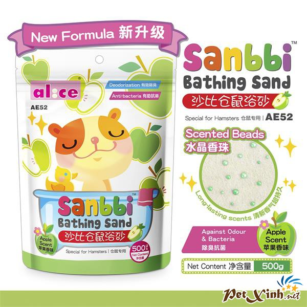 Cát Tắm Hamster 500g - Hương Táo