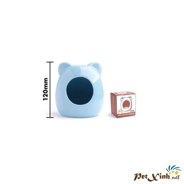 Phòng Ngủ Con Mèo Trung (Màu Xanh)