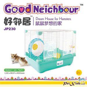 Lồng Hamster Hạnh Phúc ( Loại Mới)