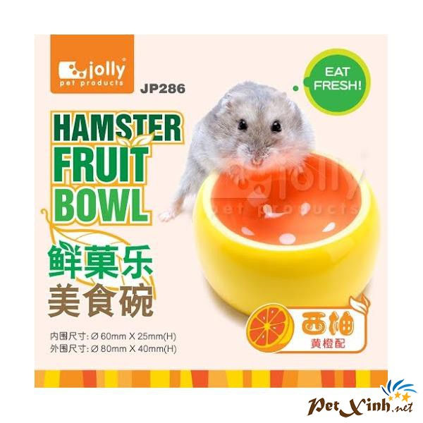 Chén Ăn Trái Bưởi Cho Hamster