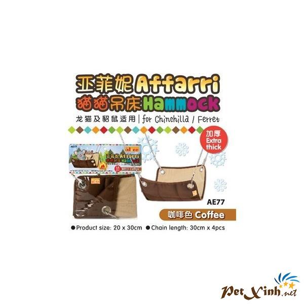 Võng Treo Nhỏ Màu Cafe