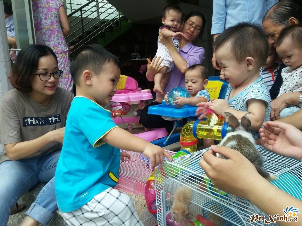 PetXinh.net đi thăm và tặng quà cho trẻ em mồ côi 5