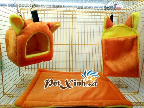 Nhà ngủ cho sóc màu cam 1