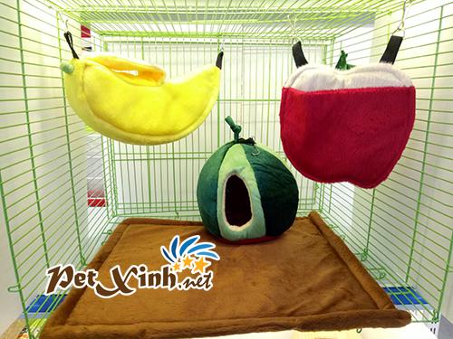Nhà ngủ cho sóc hình trái cây 1