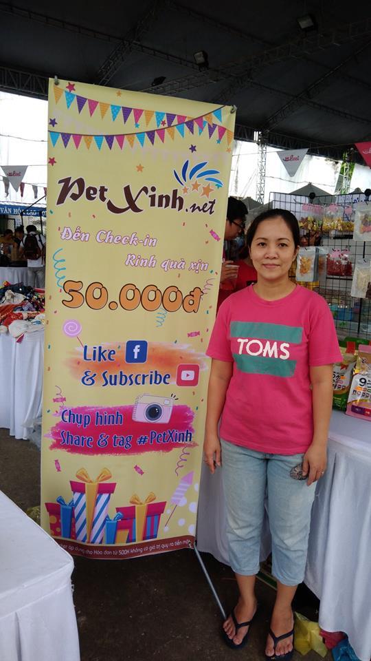 PetXinh tại hội chợ thú cưng Lozi 22