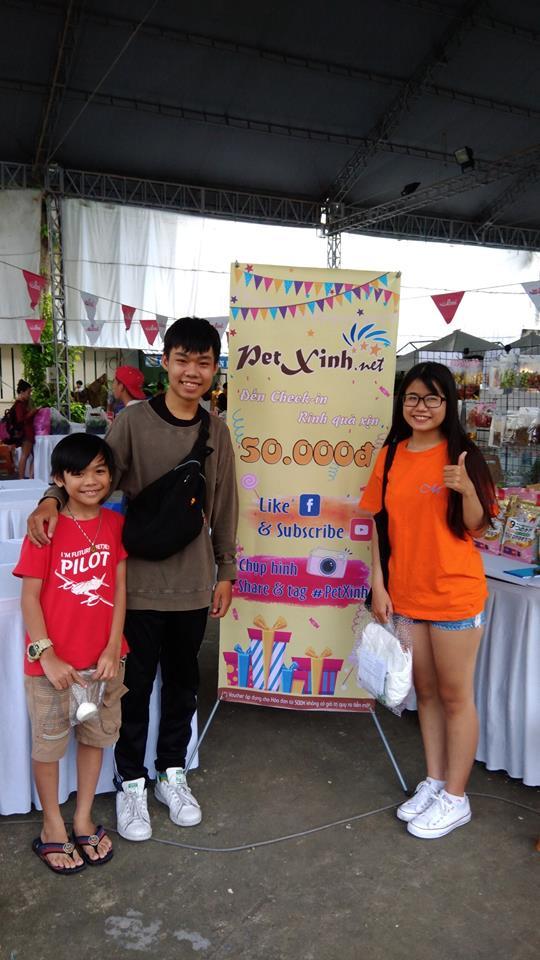 PetXinh tại hội chợ thú cưng Lozi 24