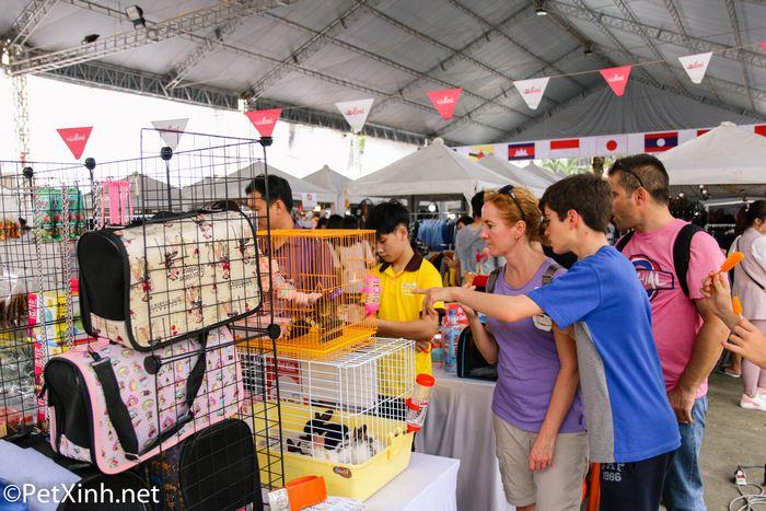 PetXinh tại hội chợ thú cưng Lozi 1