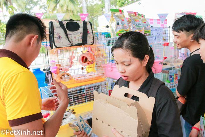 PetXinh tại hội chợ thú cưng Lozi 2