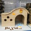 nhà gỗ cho nhím thỏ bọ