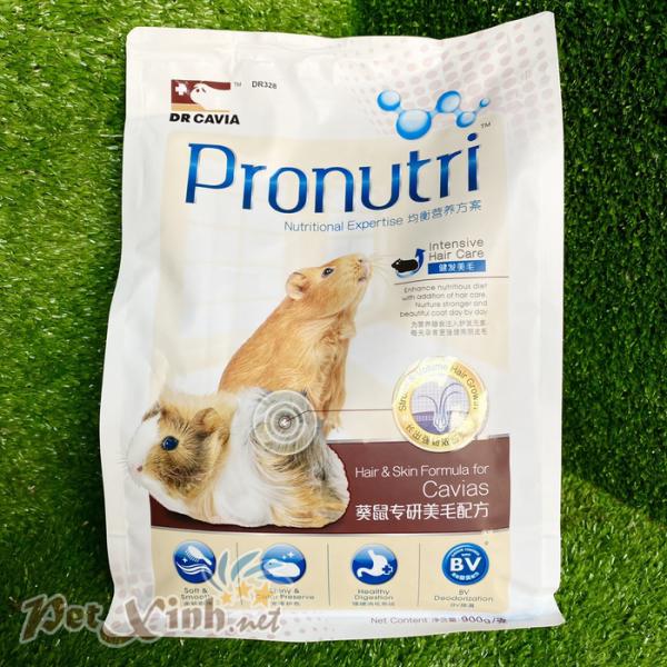 thức ăn cho bọ ú pronutri