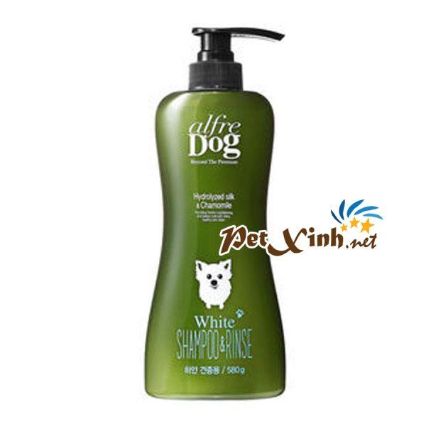 sữa tắm ngăn rụng lông alfre dog