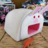Nhà vải hình thú (thỏ trắng)
