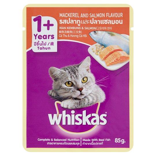 Pate Cho Mèo Lớn Whiskas Vị Cá Hồi