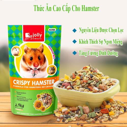 thức ăn jolly crispy hamster