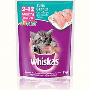 pate whiskas cá ngừ cho mèo con