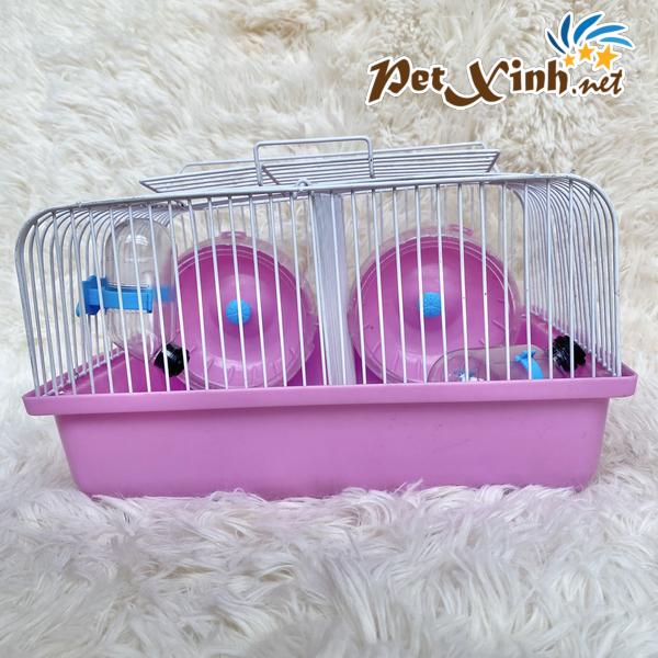 lồng hamster đôi