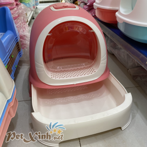 nhà vệ sinh cho mèo máng kéo