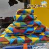 Đệm vải caro tam giác