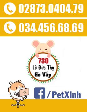 thông tin liên hệ PetXinh