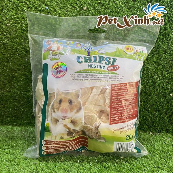 Lót ổ cho hamster Chipsi