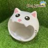 Nhà ngủ sứ hình mèo thanh lý 3