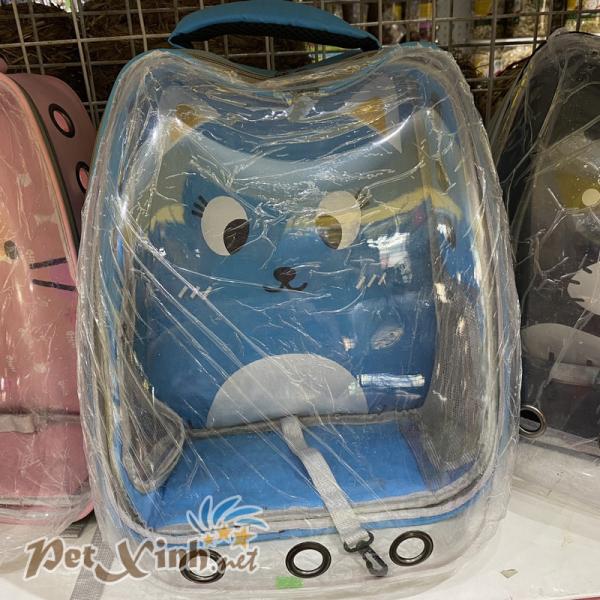 Balo thú cưng trong suốt hình mèo