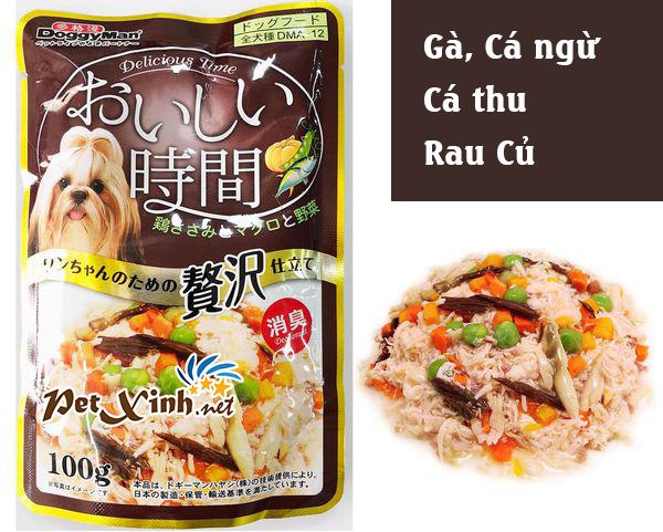 thức ăn cho chó doggy man