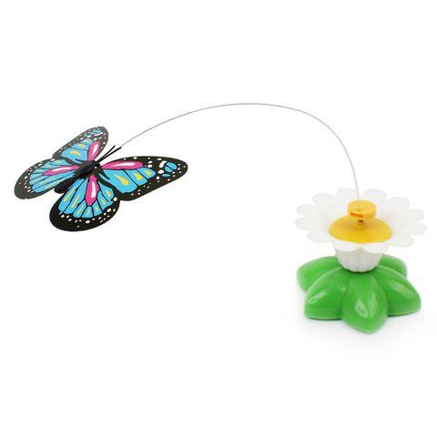 Đồ chơi cho mèo hoa bướm bay lượn tự động