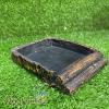 chén ăn đá giả gỗ vuông cho bò sát