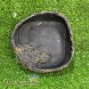 Chén đá giả gỗ tròn cho bò sát