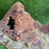 nhà ngủ kim tự tháp bằng đá cho bò sát