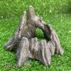 Khúc cây bằng đá trang trí cho bò sát