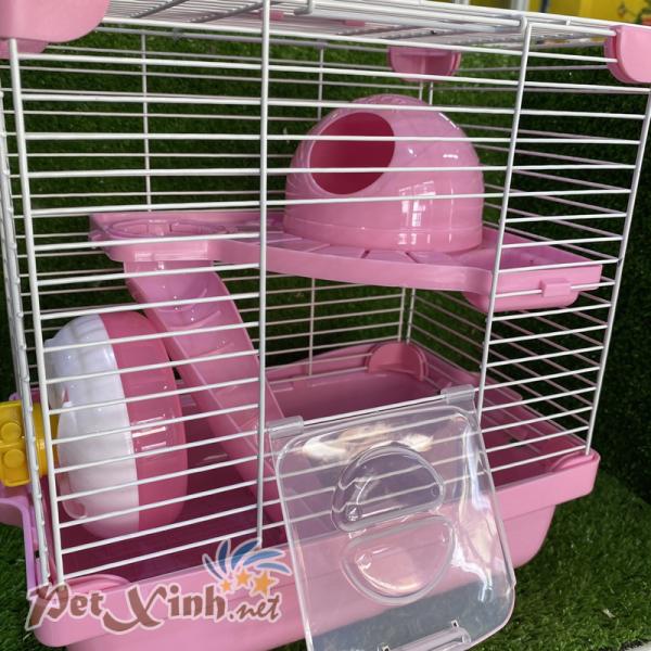 Lồng hamster nhà Eskimo