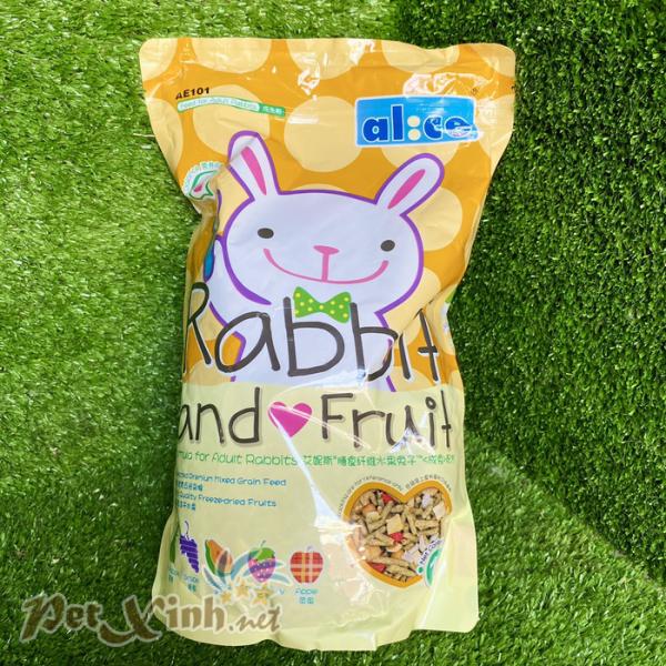 Thức ăn cho thỏ Alice Rabbit and Fruit