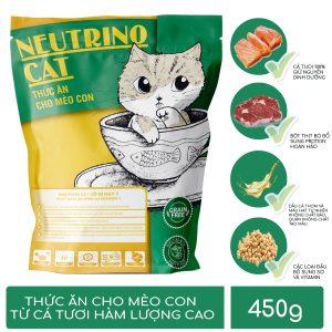 Thức ăn cho Mèo con Neutrino Cat